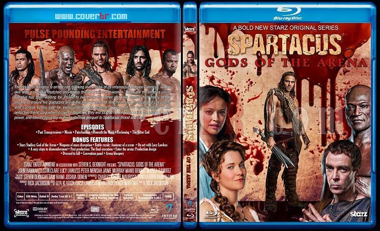 Spartacus (All Seasons) - Custom Bluray Cover Set - English [2010-2013]-2jpg