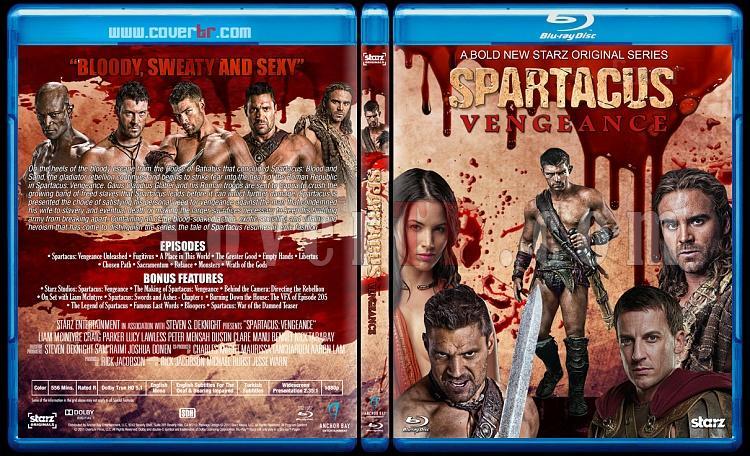Spartacus (All Seasons) - Custom Bluray Cover Set - English [2010-2013]-3jpg