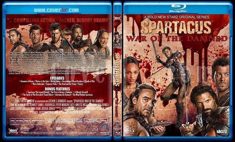 Spartacus (All Seasons) - Custom Bluray Cover Set - English [2010-2013]-4jpg