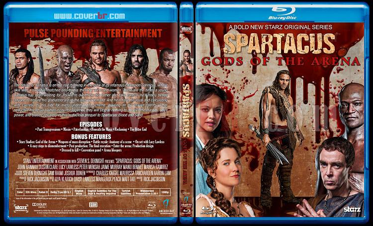 Spartacus (All Seasons) - Custom Bluray Cover Set - English [2010-2013]-2jpg