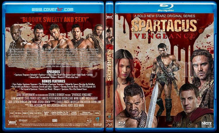 Spartacus (All Seasons) - Custom Bluray Cover Set - English [2010-2013]-3jpg