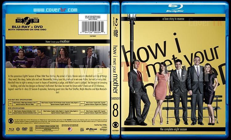 How I Met Your Mother (Seasons 1-9) - Custom Bluray Cover Set - English [2005-2014]-8jpg