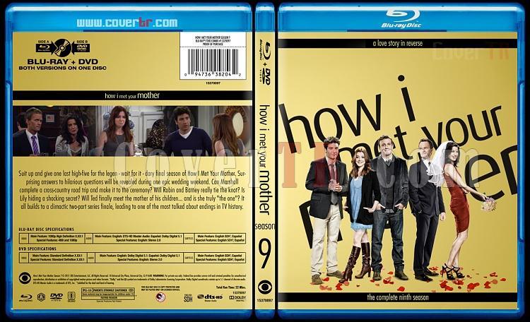 How I Met Your Mother (Seasons 1-9) - Custom Bluray Cover Set - English [2005-2014]-9jpg