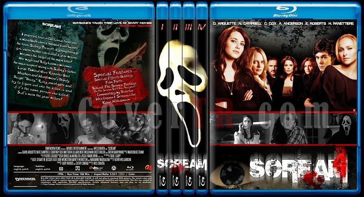 Scream Colleciton - Custom Bluray Cover Set - English [1996-2011]-0jpg