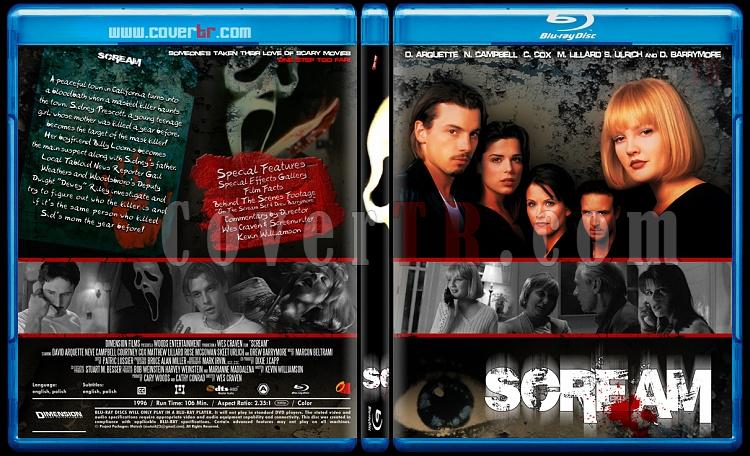 Scream Colleciton - Custom Bluray Cover Set - English [1996-2011]-scream_1-by_matush_blurayjpg