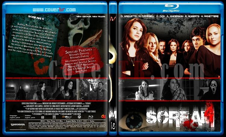 Scream Colleciton - Custom Bluray Cover Set - English [1996-2011]-scream_4-by_matush_blurayjpg