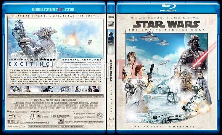 Star Wars (Episode 1-6) - Custom Bluray Cover Set - English [1977-2005]-5_star_wars_episode_v-the_empire_strikes_back_bd-by_matush_ctrjpg