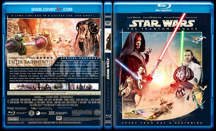 Star Wars (Episode 1-6) - Custom Bluray Cover Set - English [1977-2005]-1_star_wars_episode_i-the_phantom_menace_bd_ctr-by_matush_v2jpg