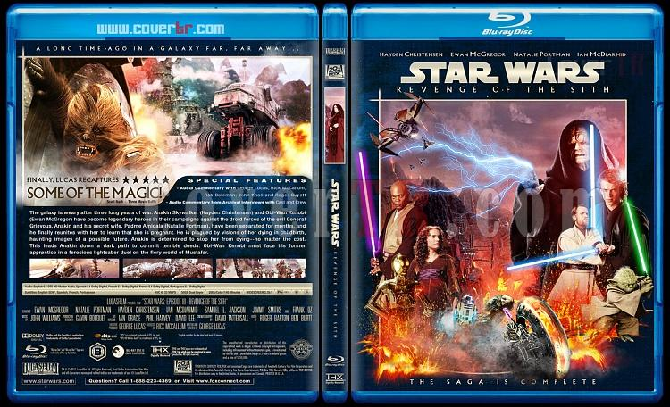Star Wars (Episode 1-6) - Custom Bluray Cover Set - English [1977-2005]-3_star_wars_episode_iii-revenge_of_the_sith_bd-by_matush_v2_ctrjpg