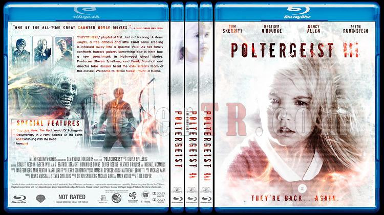 Poltergeist (Trilogy) - Custom Bluray Cover Set - English [1982-1988]-br-spine-copyjpg