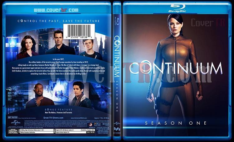 Continuum (Season 1-3) - Custom Bluray Cover Set - English [2012-?]-continuumseason1bluraycoverbunnydojojpg
