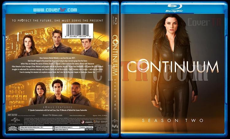 Continuum (Season 1-3) - Custom Bluray Cover Set - English [2012-?]-continuumseason2bluraycoverbunnydojojpg