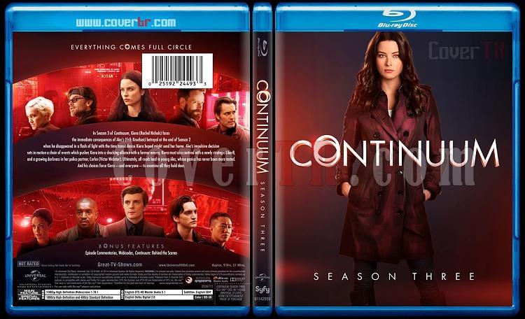 Continuum (Season 1-3) - Custom Bluray Cover Set - English [2012-?]-continuumseason3bunnydojojpg