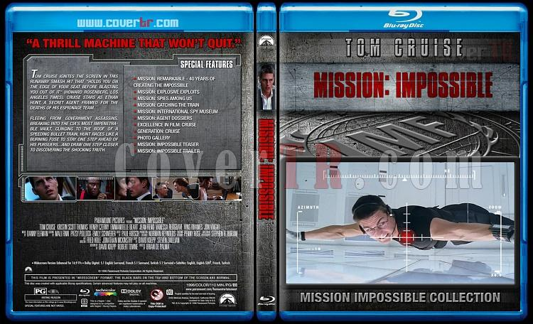 Mission: Impossible Collection - Custom Bluray Cover Set - English [1996-2015]-1jpg