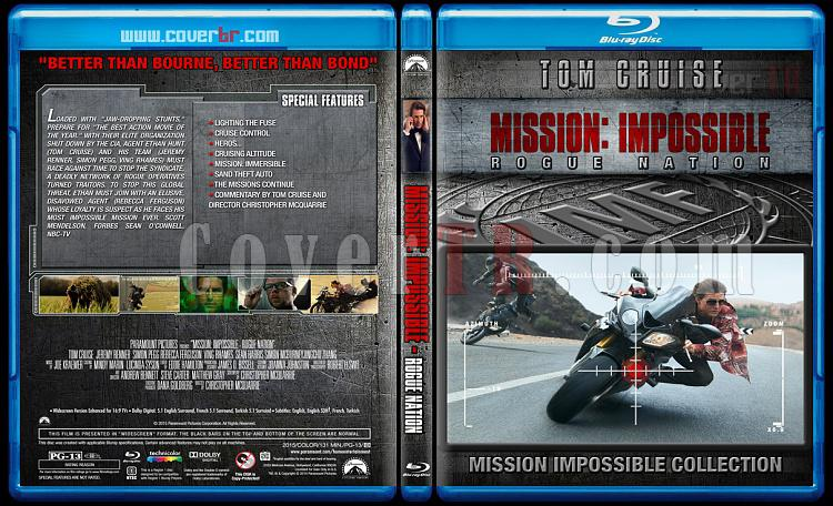 Mission: Impossible Collection - Custom Bluray Cover Set - English [1996-2015]-5jpg