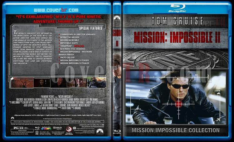 Mission: Impossible Collection - Custom Bluray Cover Set - English [1996-2015]-2jpg