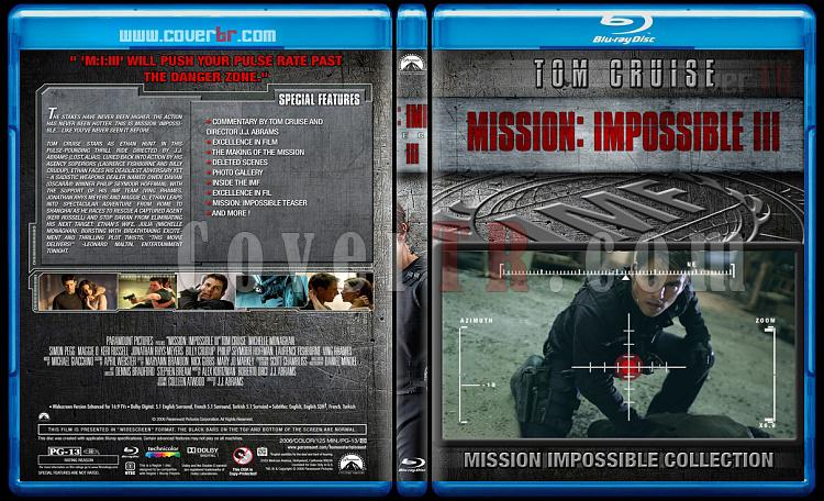 Mission: Impossible Collection - Custom Bluray Cover Set - English [1996-2015]-3jpg