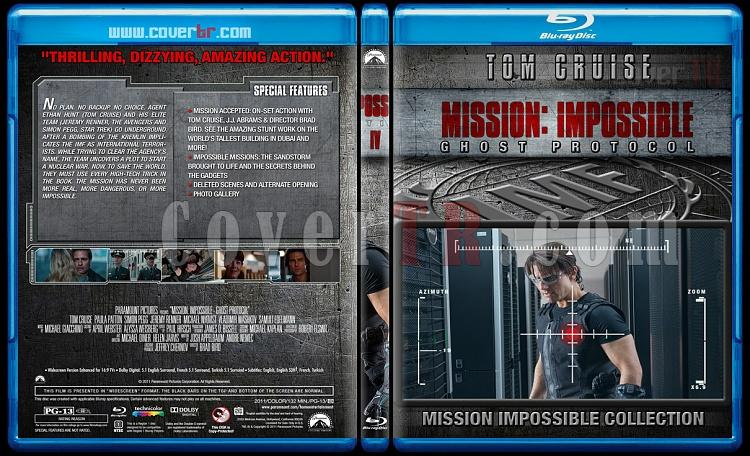 Mission: Impossible Collection - Custom Bluray Cover Set - English [1996-2015]-4jpg