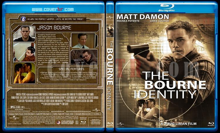 The Bourne Collection - Custom Bluray Cover Set - English [2002-2012]-1jpg