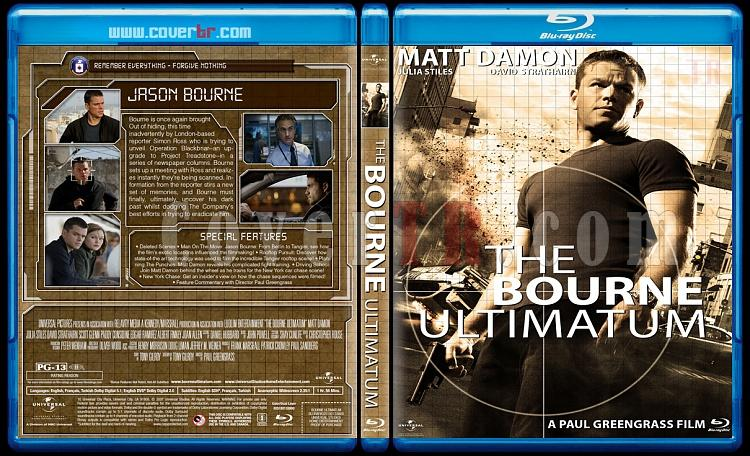 The Bourne Collection - Custom Bluray Cover Set - English [2002-2012]-3jpg