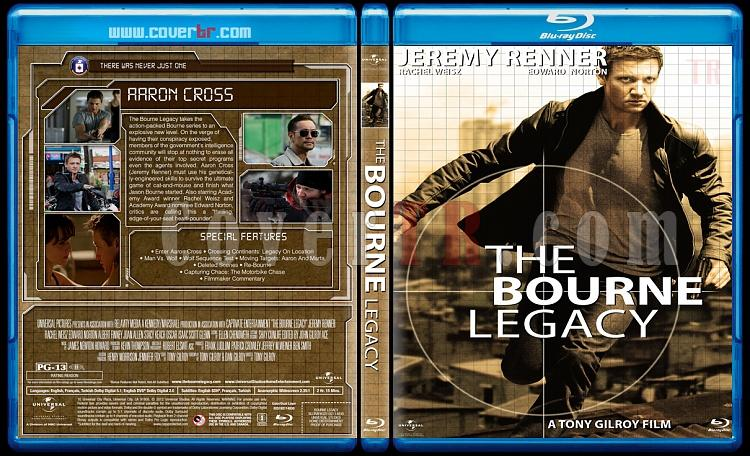 The Bourne Collection - Custom Bluray Cover Set - English [2002-2012]-4jpg