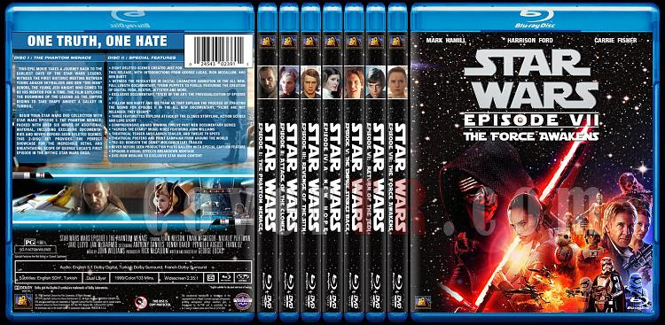Star Wars Collection - Custom Bluray Cover Set - English [1977-2015]-0jpg