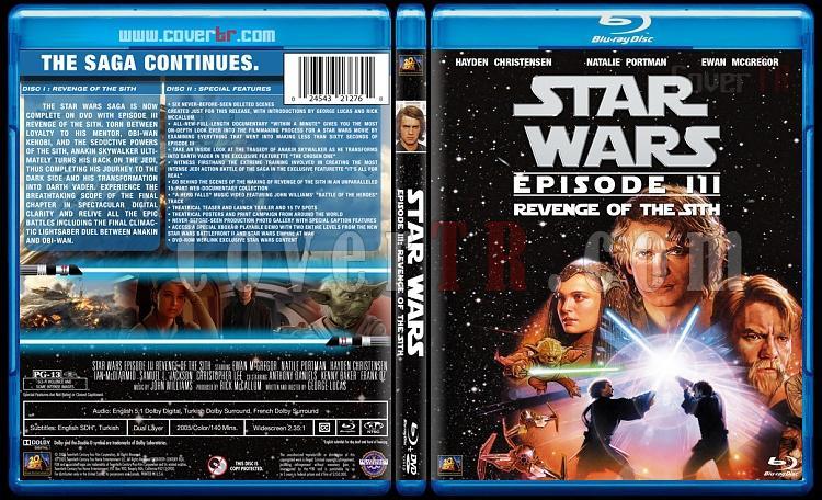 Star Wars Collection - Custom Bluray Cover Set - English [1977-2015]-3jpg
