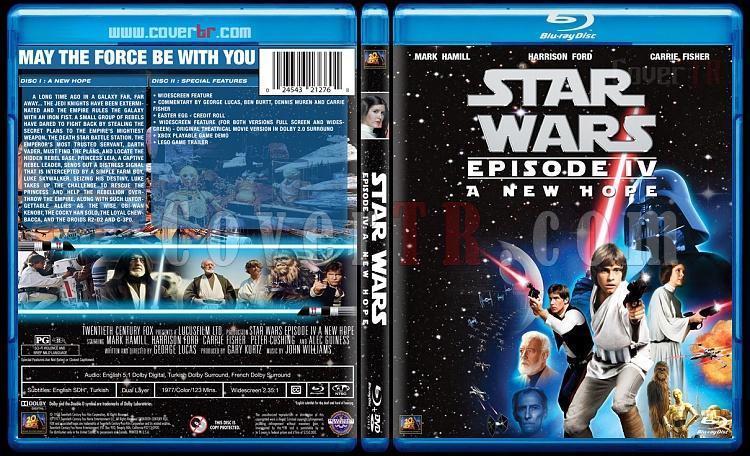 Star Wars Collection - Custom Bluray Cover Set - English [1977-2015]-4jpg