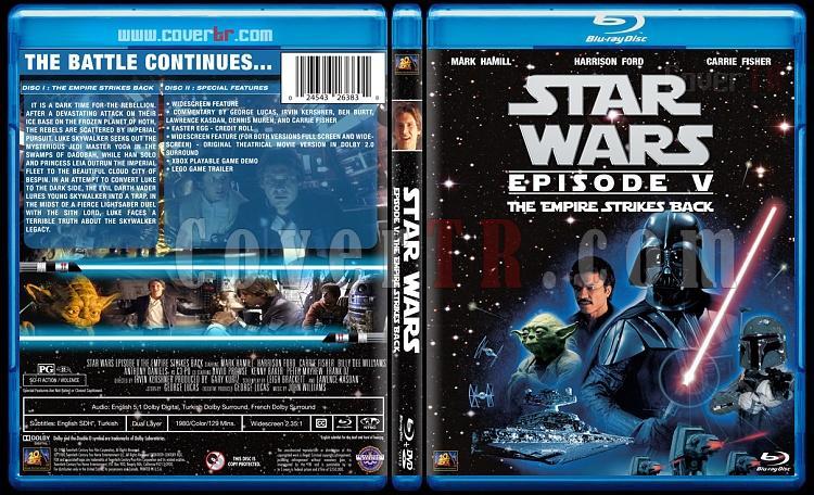Star Wars Collection - Custom Bluray Cover Set - English [1977-2015]-5jpg
