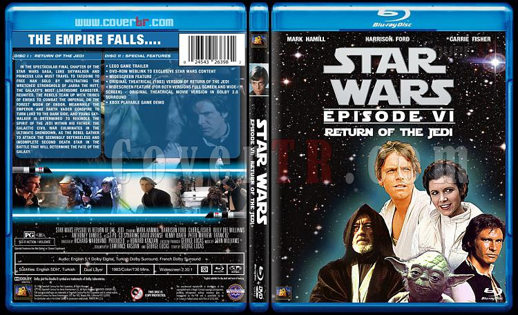 Star Wars Collection - Custom Bluray Cover Set - English [1977-2015]-6jpg