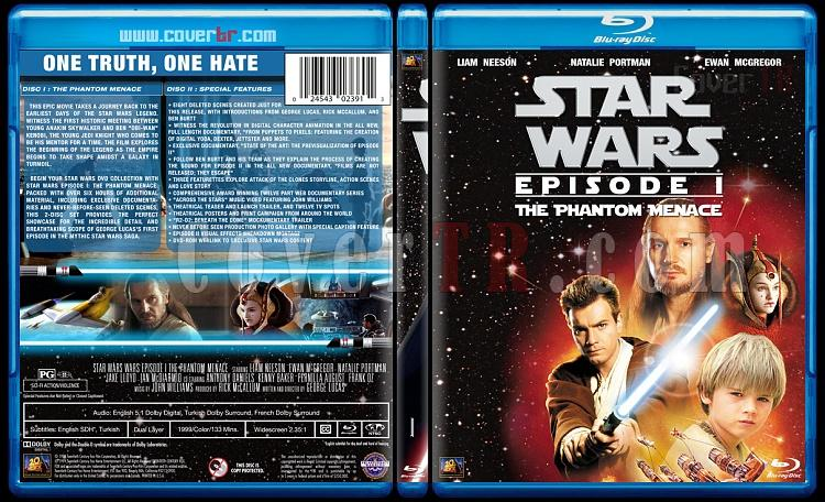 Star Wars Collection - Custom Bluray Cover Set - English [1977-2015]-1jpg