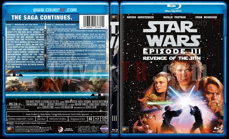 Star Wars Collection - Custom Bluray Cover Set - English [1977-2015]-3jpg