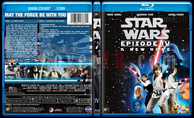 Star Wars Collection - Custom Bluray Cover Set - English [1977-2015]-4jpg