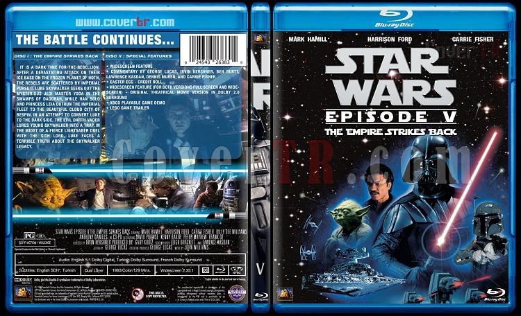 Star Wars Collection - Custom Bluray Cover Set - English [1977-2015]-5jpg