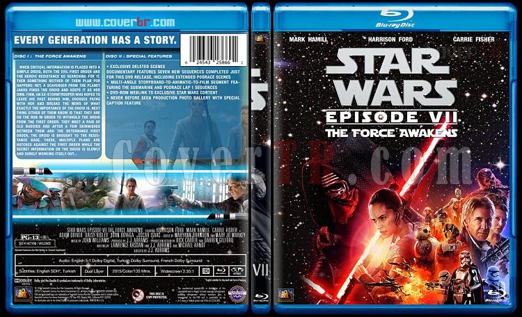 Star Wars Collection - Custom Bluray Cover Set - English [1977-2015]-7jpg