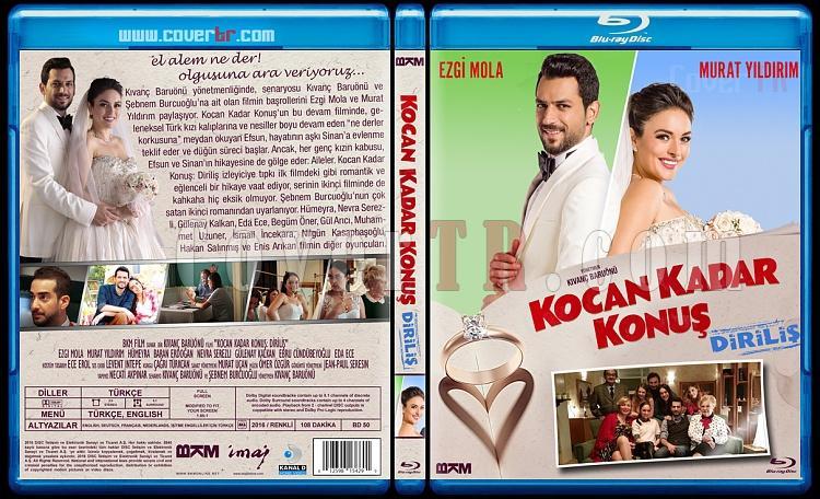 Kocan Kadar Konuş - Custom Bluray Cover Set - Türkçe [2015-2016]-2jpg