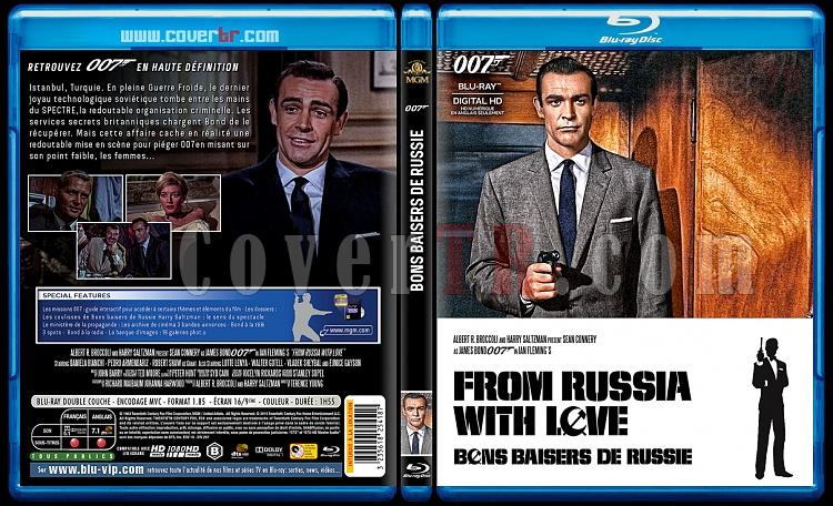 007 James Bond Collection - Custom Bluray Cover Set - French [1962-2015]-2-007-bons-baisers-de-russiejpg