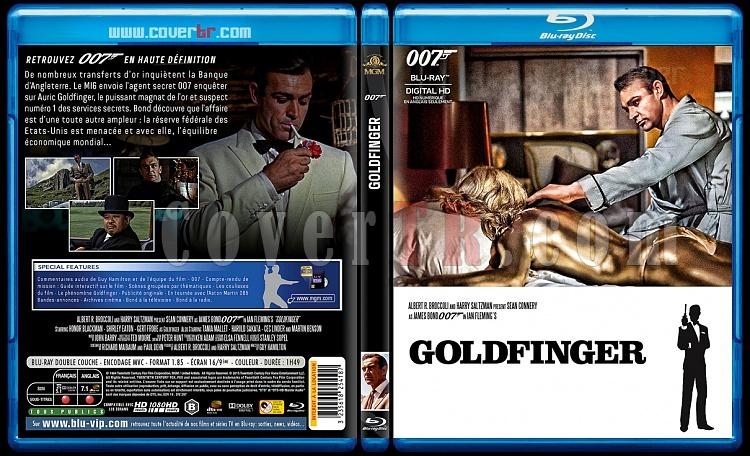 007 James Bond Collection - Custom Bluray Cover Set - French [1962-2015]-3-007-goldfingerjpg