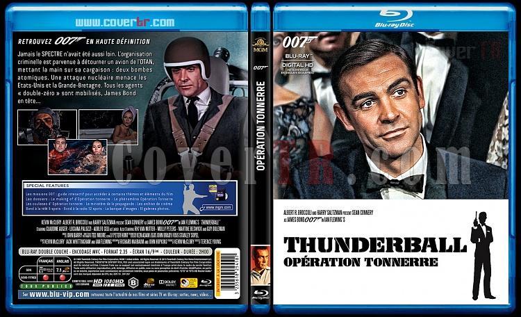 007 James Bond Collection - Custom Bluray Cover Set - French [1962-2015]-4-007-opiration-tonnerrejpg