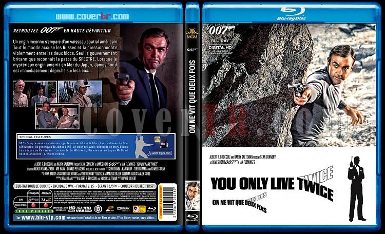 007 James Bond Collection - Custom Bluray Cover Set - French [1962-2015]-5-007-ne-vit-que-deux-foisjpg