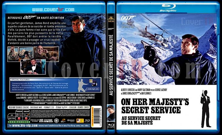 007 James Bond Collection - Custom Bluray Cover Set - French [1962-2015]-6-007-au-service-secret-de-sa-majestijpg