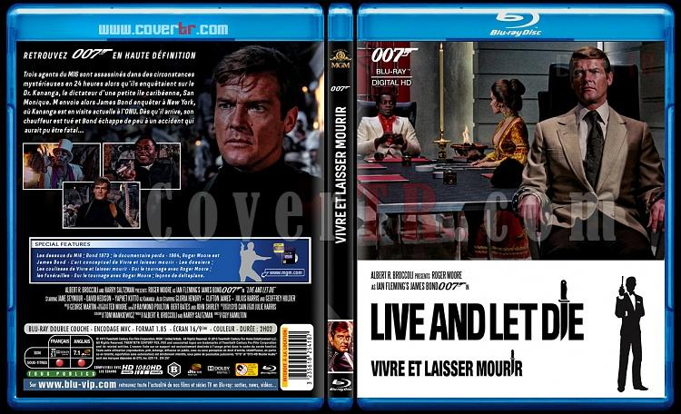 007 James Bond Collection - Custom Bluray Cover Set - French [1962-2015]-8-007-vivre-et-laisser-mourirjpg