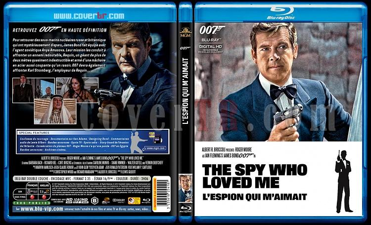 007 James Bond Collection - Custom Bluray Cover Set - French [1962-2015]-10-007-lespion-qui-maimaitjpg