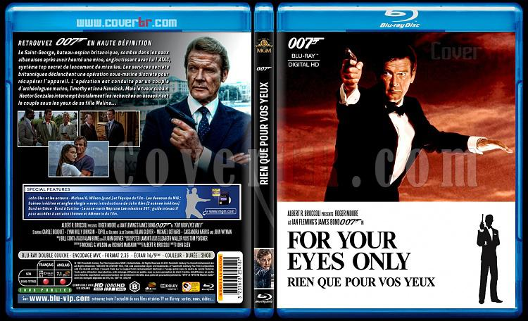 007 James Bond Collection - Custom Bluray Cover Set - French [1962-2015]-12-007-rien-que-pour-vos-yeuxjpg