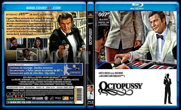 007 James Bond Collection - Custom Bluray Cover Set - French [1962-2015]-13-007-octopussyjpg
