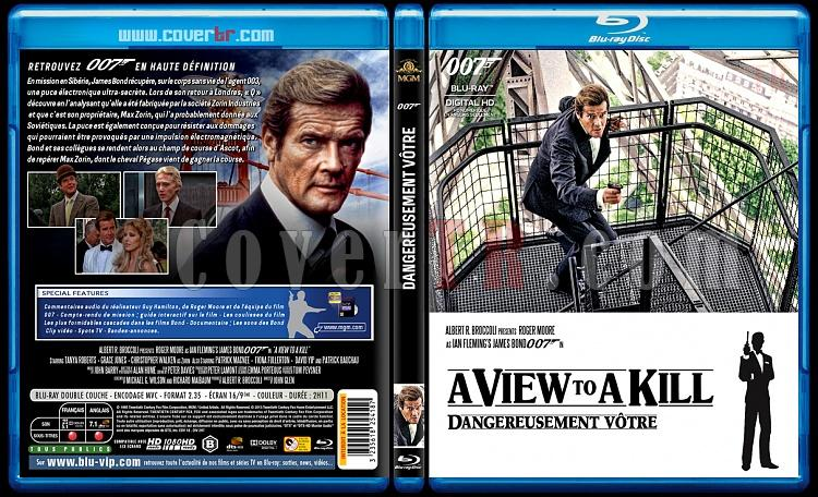 007 James Bond Collection - Custom Bluray Cover Set - French [1962-2015]-14-007-dangereusement-votrejpg