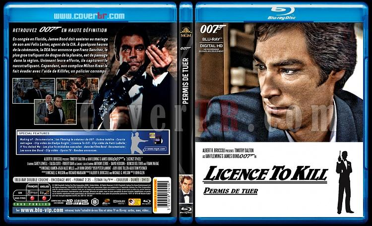 007 James Bond Collection - Custom Bluray Cover Set - French [1962-2015]-16-007-permis-de-tuerjpg