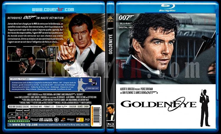 007 James Bond Collection - Custom Bluray Cover Set - French [1962-2015]-17-007-goldeneyejpg
