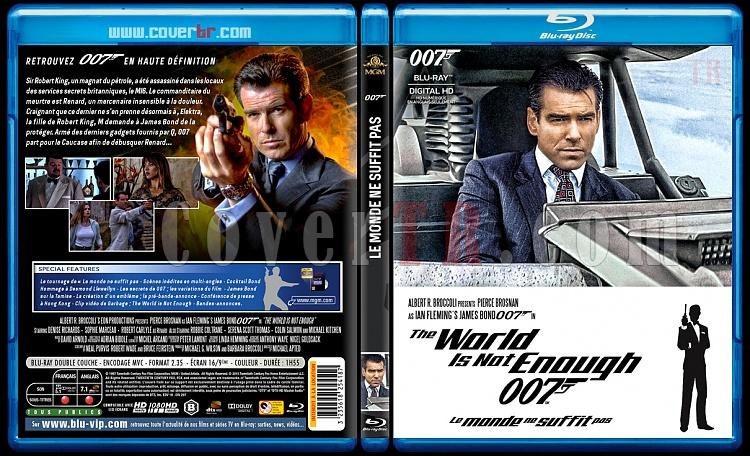 007 James Bond Collection - Custom Bluray Cover Set - French [1962-2015]-19-007-le-monde-ne-suffit-pasjpg
