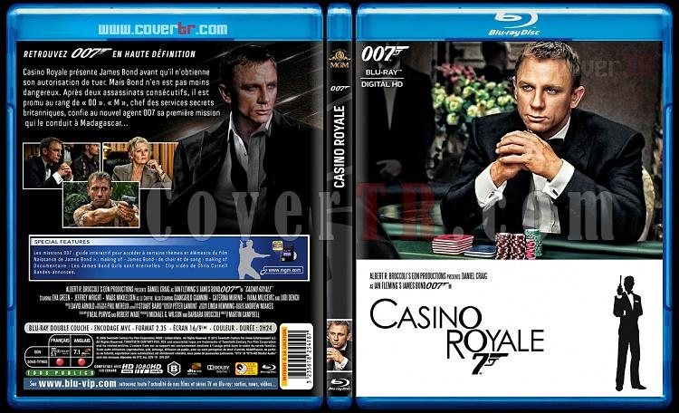 007 James Bond Collection - Custom Bluray Cover Set - French [1962-2015]-21-007-casino-royalejpg